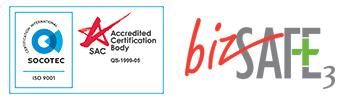 Website ISO BizSafe Logo